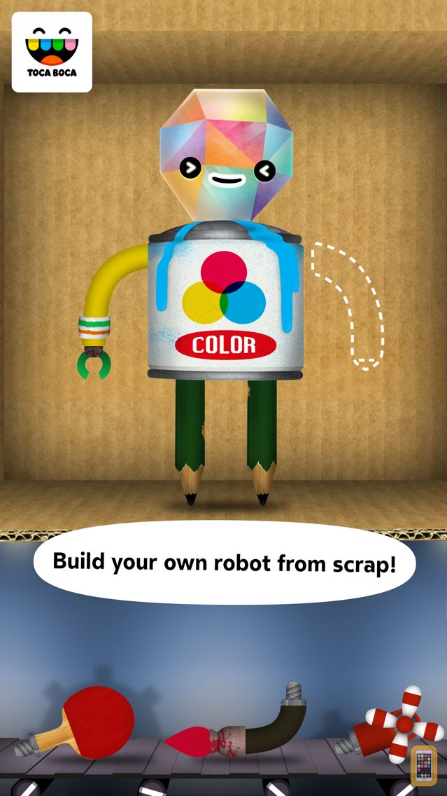Screenshot - Toca Robot Lab