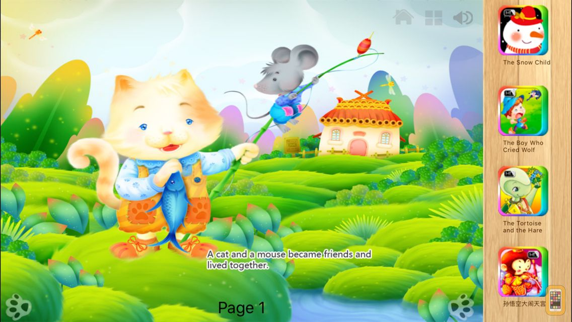 Screenshot - Cat and Mouse in Partnership Fairy Tale iBigToy