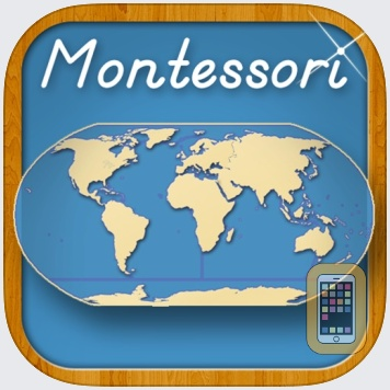 World Continents and Oceans - A Montessori Approach To Geography by Rantek Inc. (Universal)