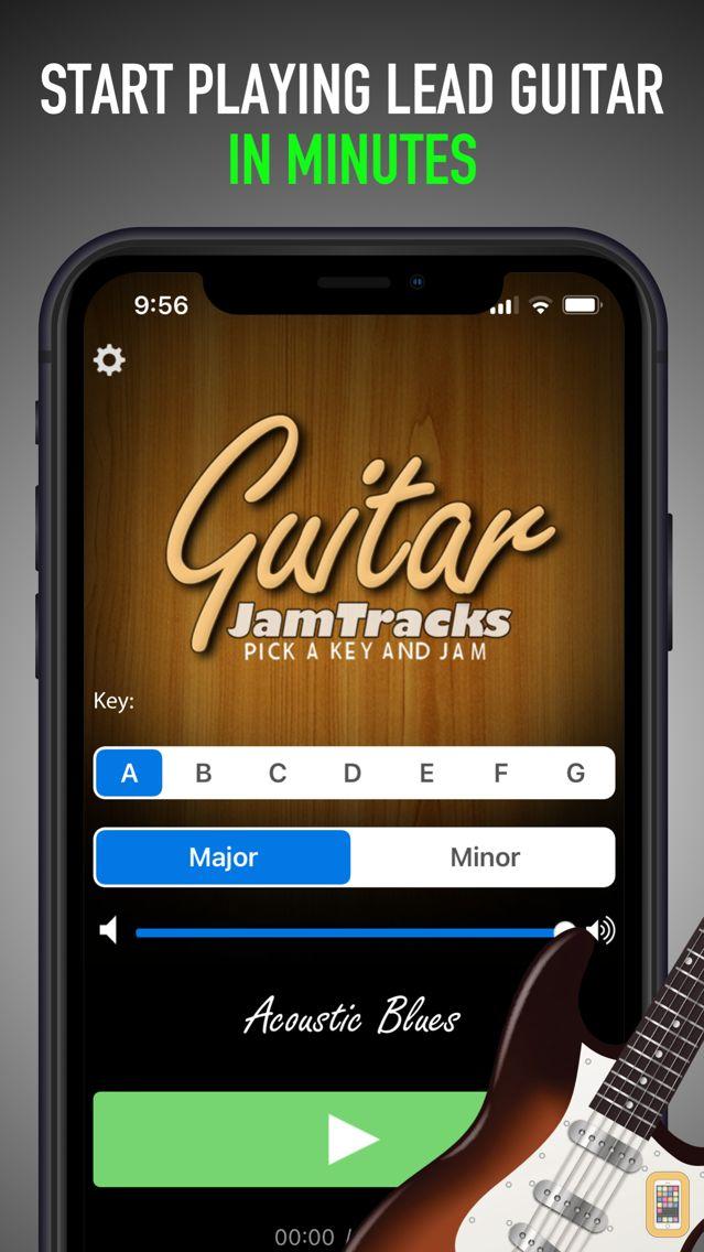 Screenshot - Guitar Jam Tracks - Scale Trainer & Practice Buddy