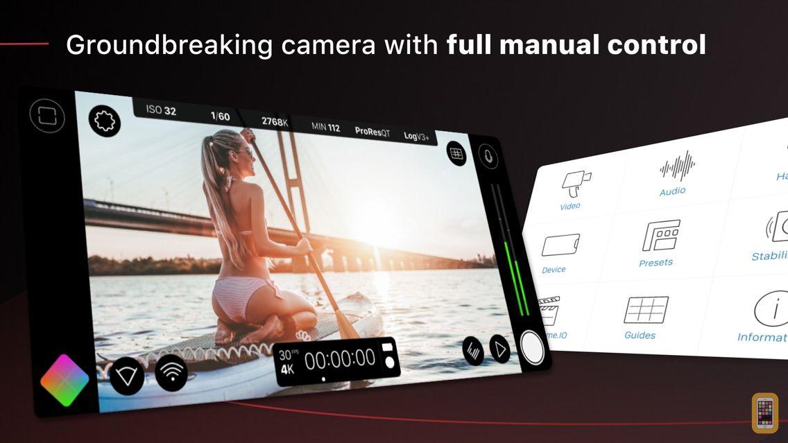 Screenshot - FiLMiC Pro-Manual Video Camera