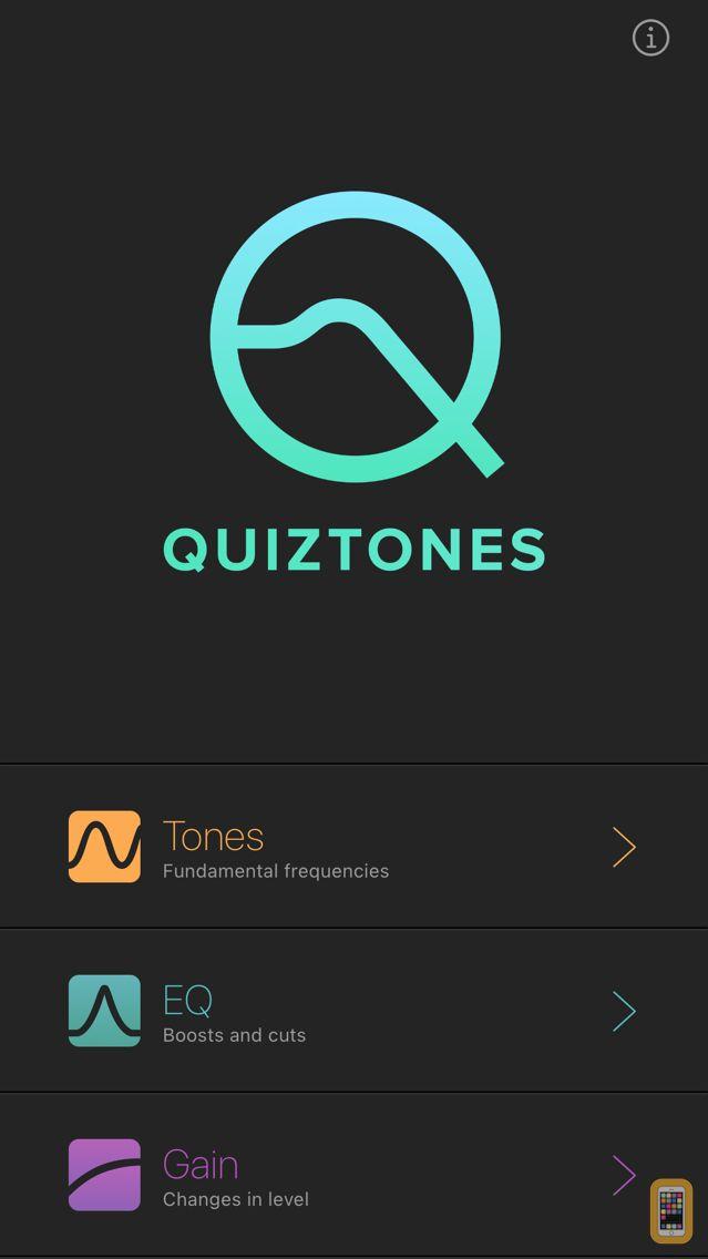 Screenshot - Quiztones: EQ Ear Training