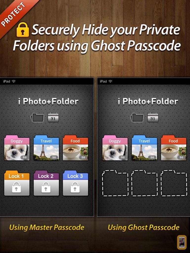 Screenshot - Secret Photo+Folder HD for iPad