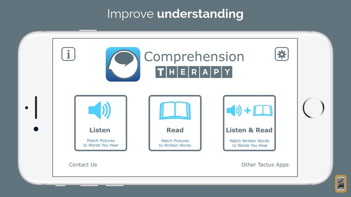 Screenshot - Comprehension Therapy