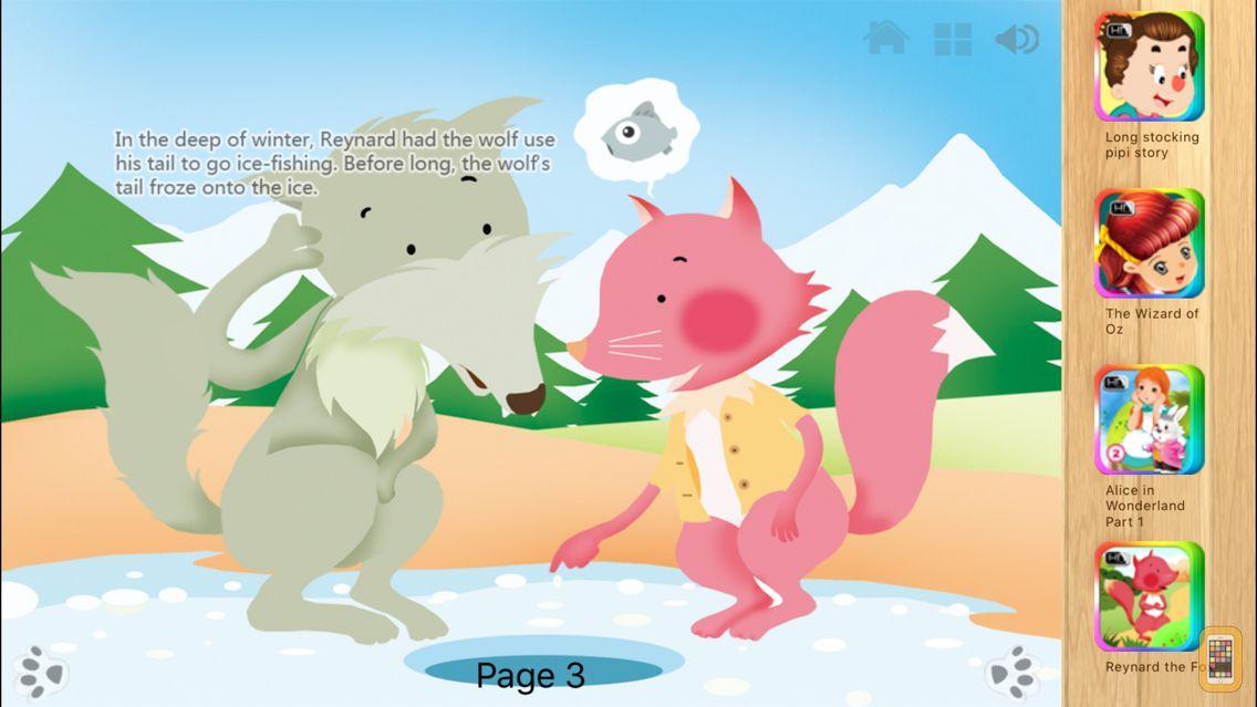 Screenshot - Reynard the Fox - Bedtime Fairy Tale iBigToy