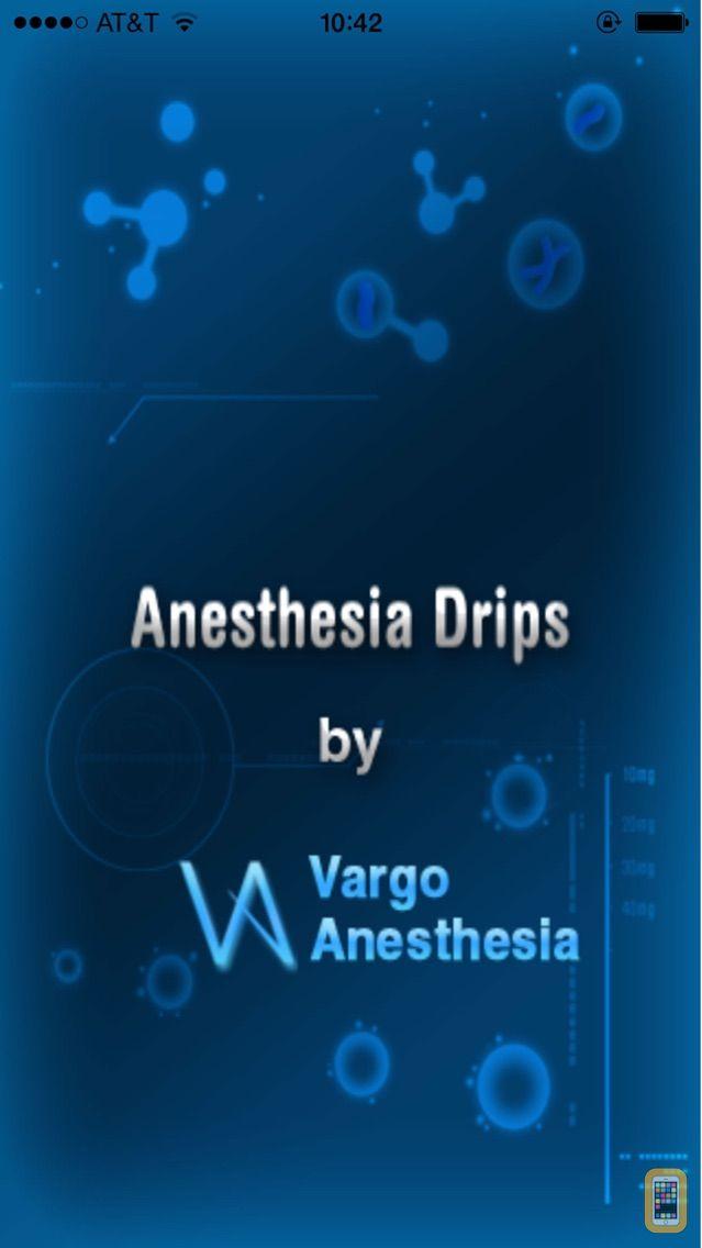 Screenshot - Anesthesia Drips