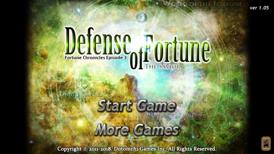 Screenshot - Defense of Fortune: The Savior