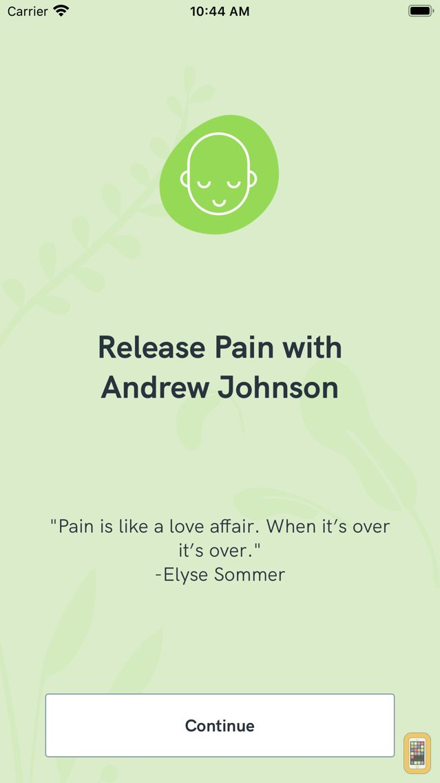 Screenshot - Release Pain with Andrew Johnson