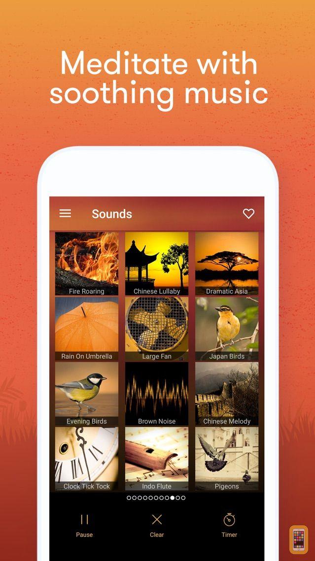 Screenshot - Meditation & Relax Music Pro