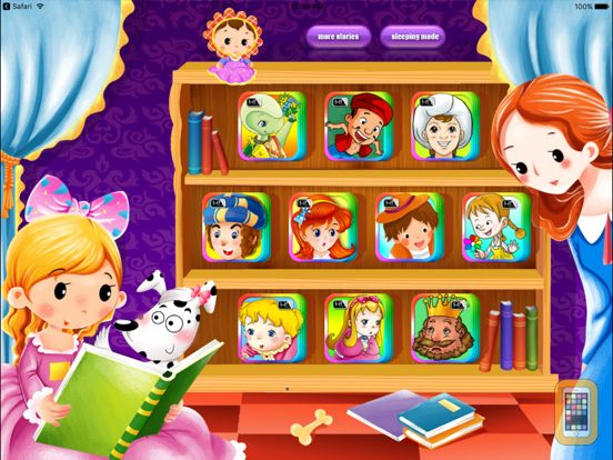 Screenshot - 10 Books Classic Bedtime Fairy Tales iBigToy