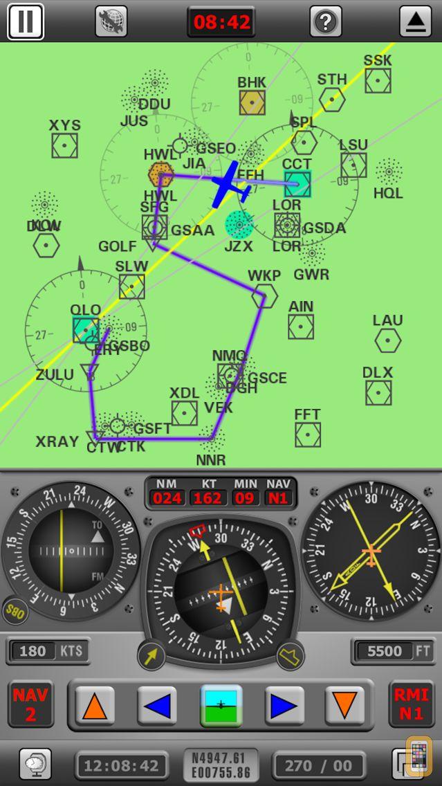 Screenshot - Radio Navigation Simulator IFR