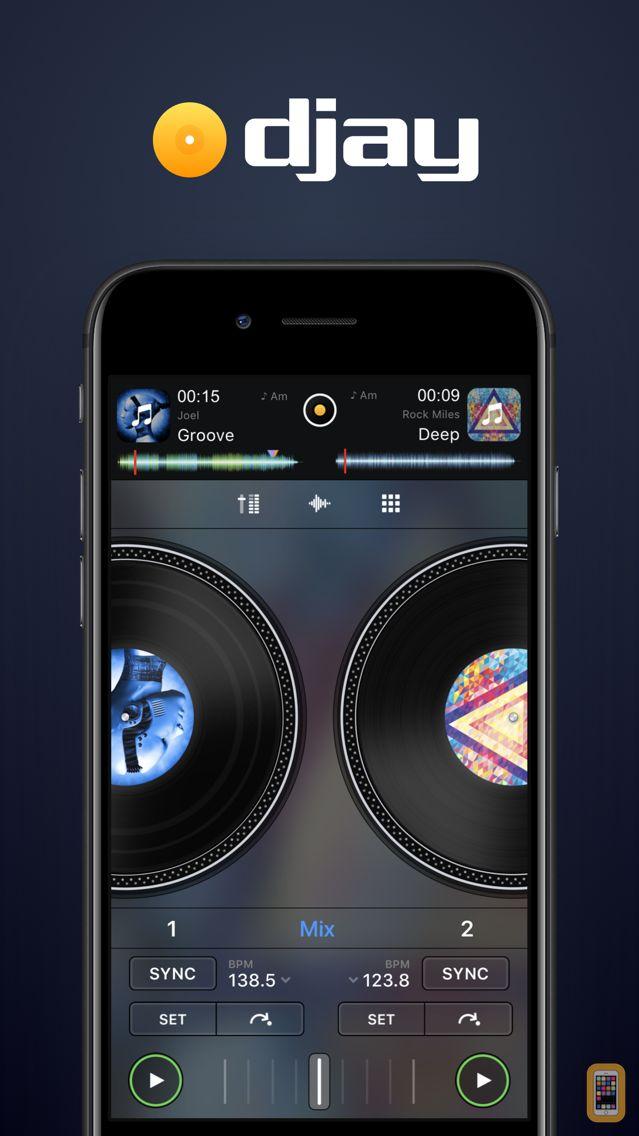 Screenshot - djay - DJ App & Mixer