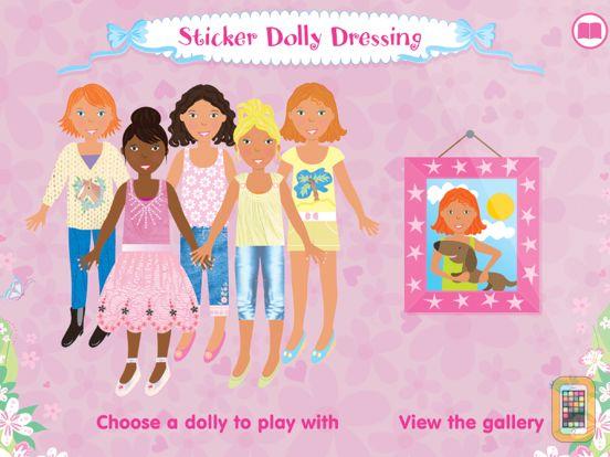 Screenshot - Usborne Sticker Dolly Dressing