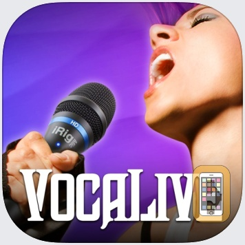 VocaLive for iPad by IK Multimedia (iPad)