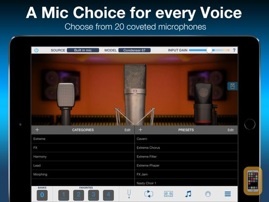 Screenshot - VocaLive for iPad