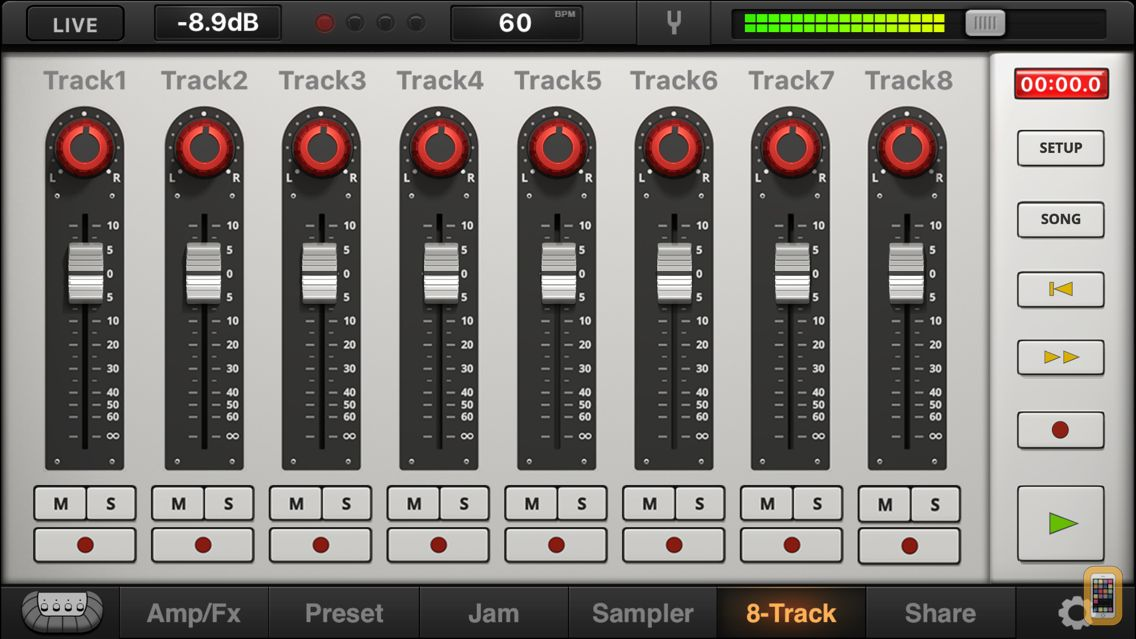 Screenshot - JamUp Pro