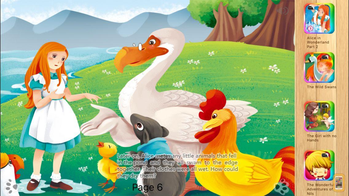 Screenshot - Alice in Wonderland Part 1- Book iBigToy