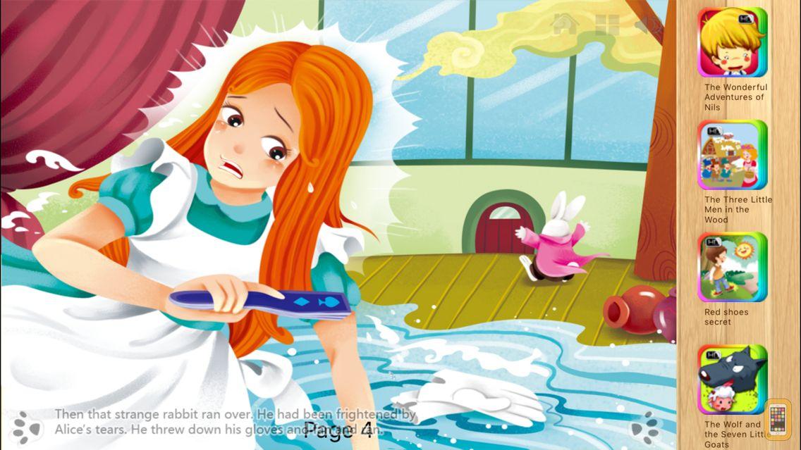 Screenshot - Alice in Wonderland Part 2 - iBigToy
