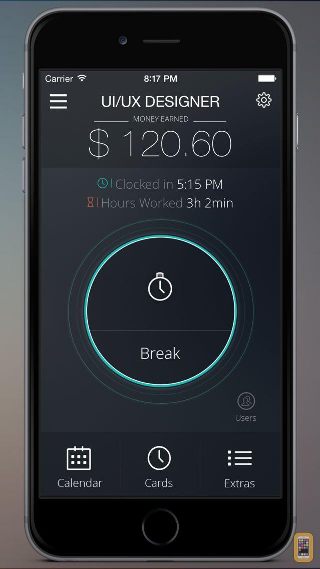 Screenshot - Timecard Pro - Hours & Work Schedule Tracking