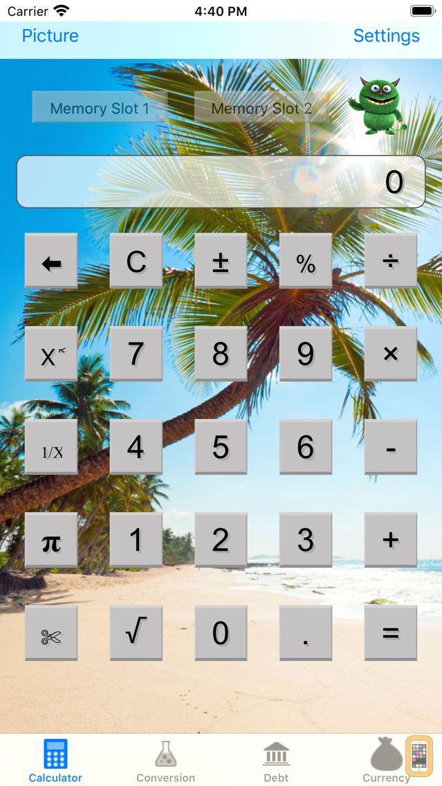 Screenshot - Cool Calculator for iPad