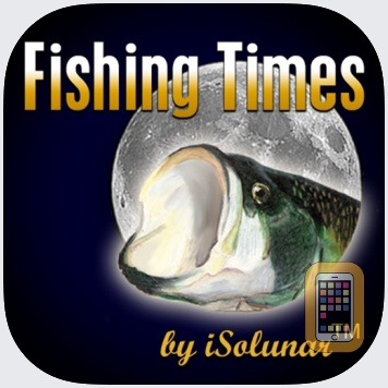 Fishing Times by iSolunar by RedSnake Enterprises, LLC (iPhone)