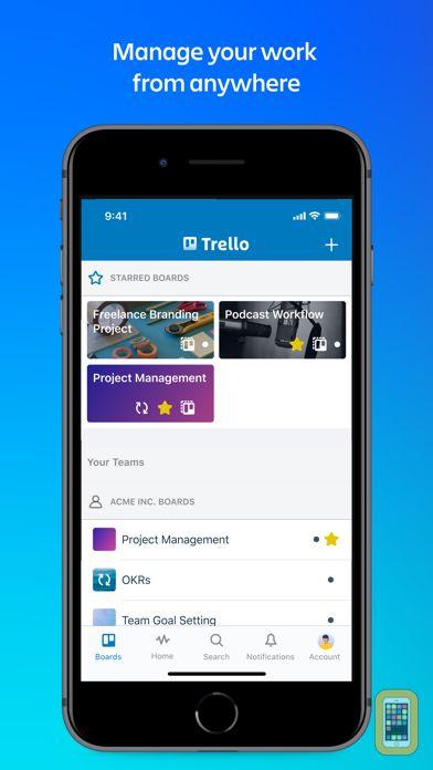 Screenshot - Trello — Organize anything!