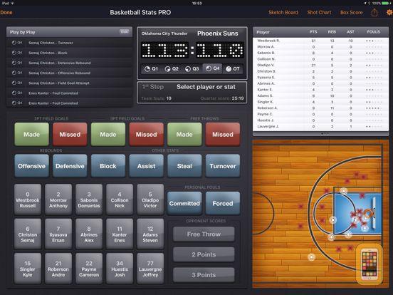 Screenshot - Basketball Stats PRO