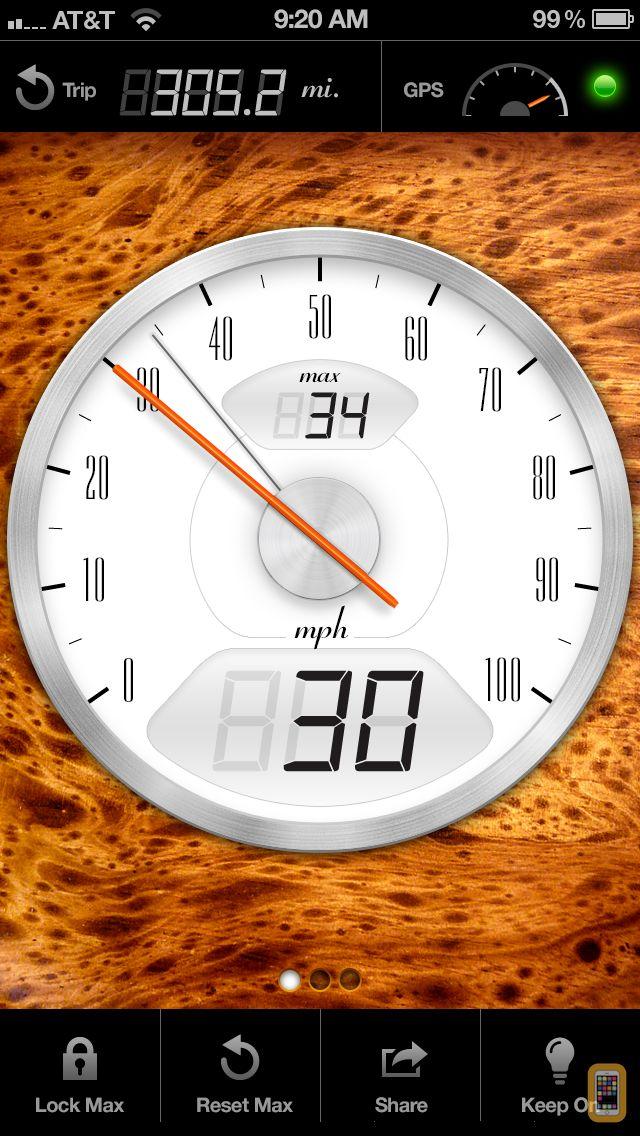Screenshot - Speedometer+