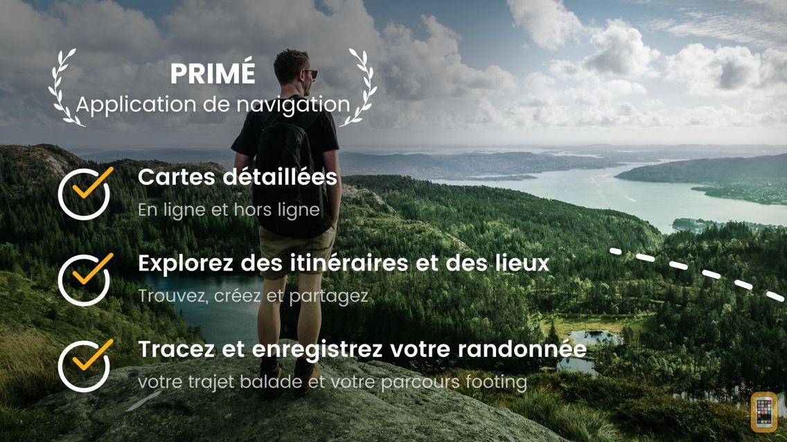 Screenshot - OutDoors GPS France - IGN Maps