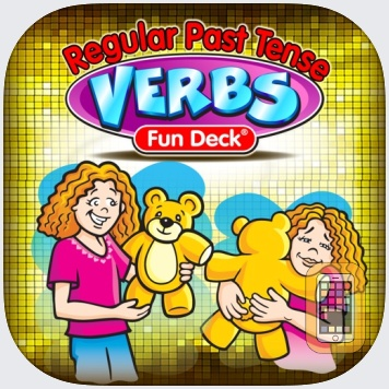 Regular Past Tense Verbs Fun Deck by Super Duper Publications (Universal)