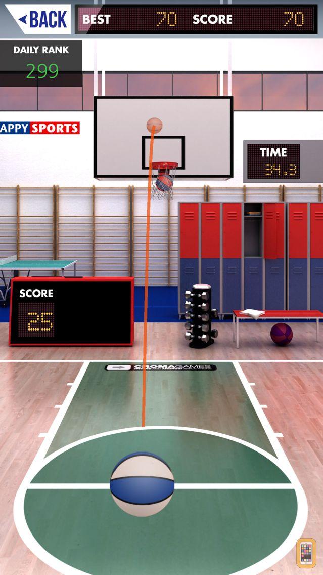 Screenshot - Tappy Sports Basket Free
