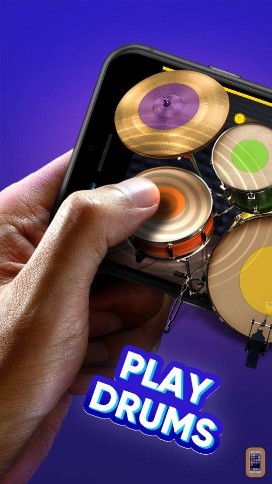 Screenshot - WeDrum - Drums; Real Drum Kit