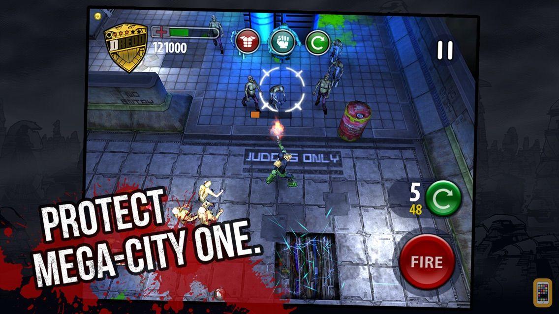 Screenshot - Judge Dredd vs Zombies