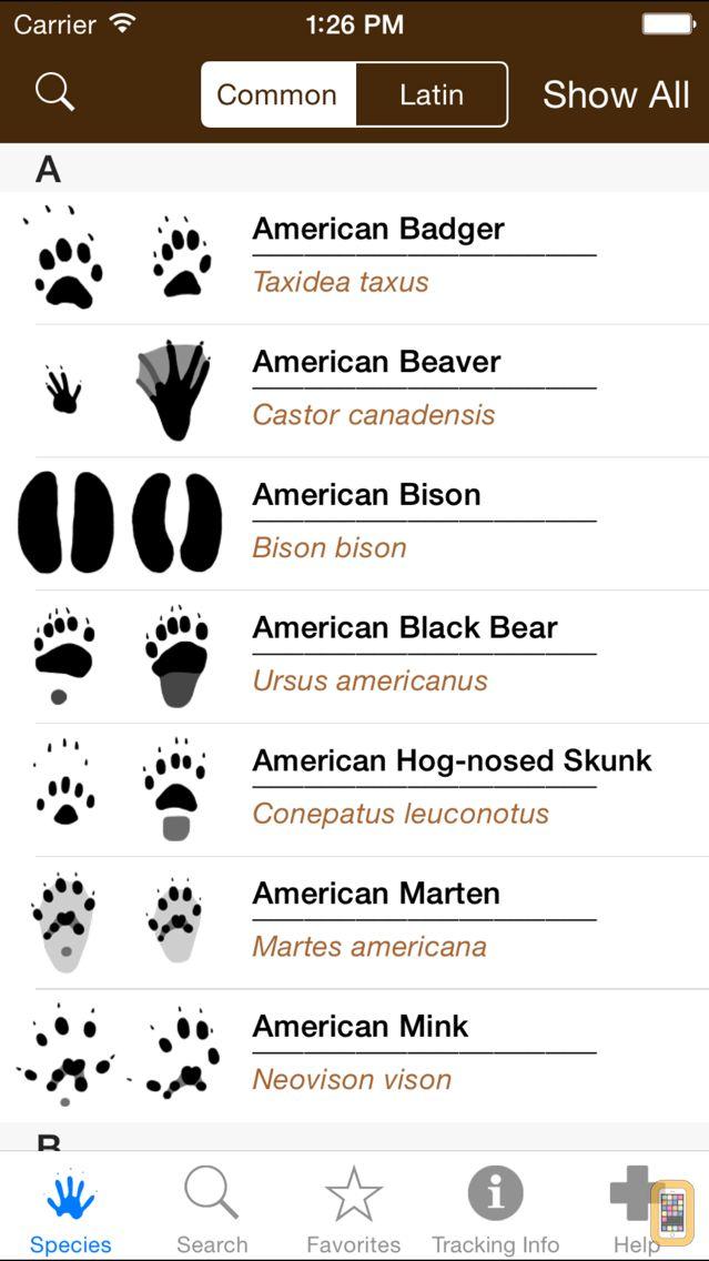 Screenshot - iTrack Wildlife Pro