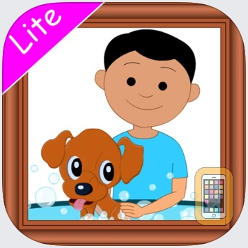 Picture the Sentence HD Lite by Hamaguchi Apps for Speech, Language & Auditory Development (iPad)