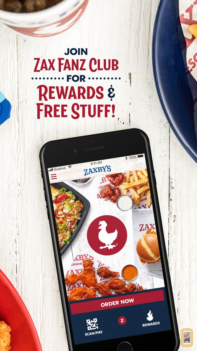 Screenshot - Zaxby's