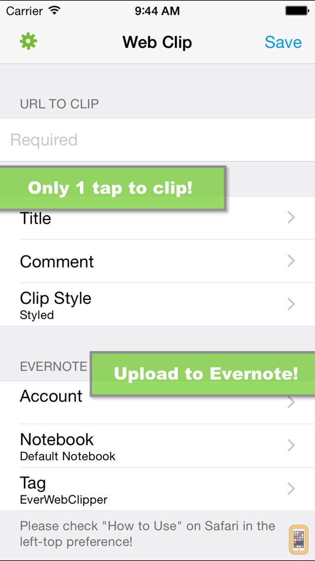 Screenshot - EverWebClipper for Evernote - Clip Web Pages