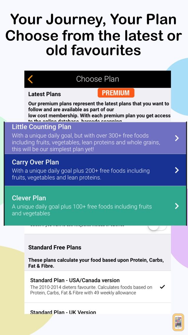 Screenshot - Ultimate Food Value Diary