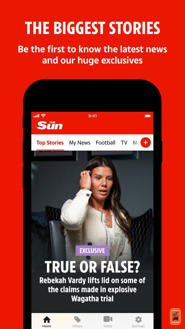 Screenshot - The Sun Mobile - Daily News