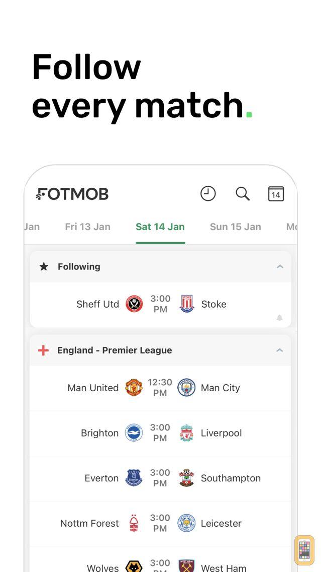 Screenshot - FotMob Live Soccer Scores