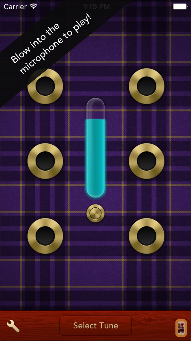 Screenshot - Air Pipes - Bagpipes for iPhone