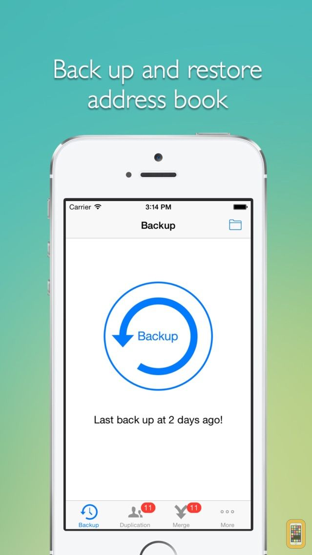 Screenshot - Remove duplicate contacts  -- Support backup and merge now!
