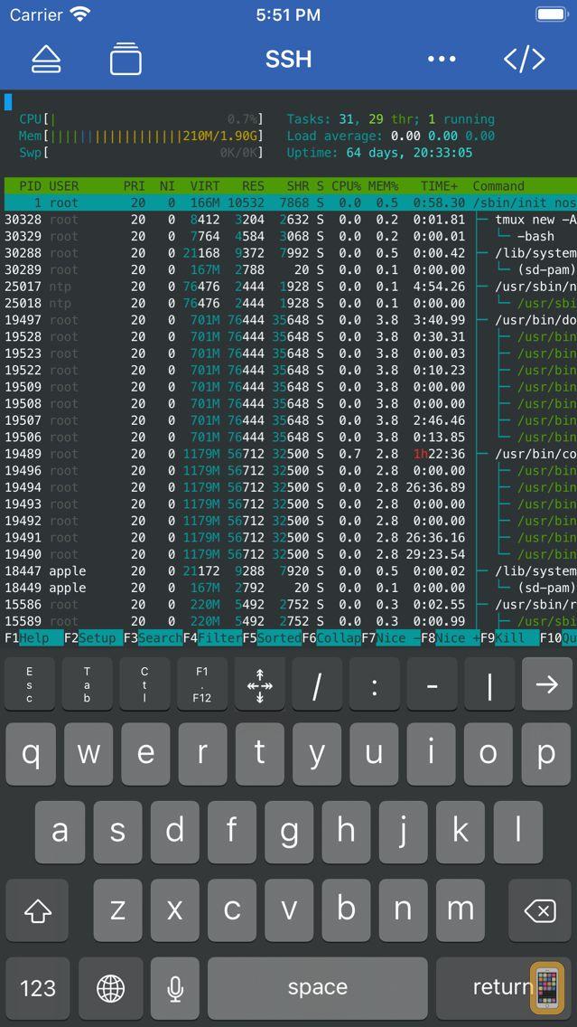 Screenshot - WebSSH Pro