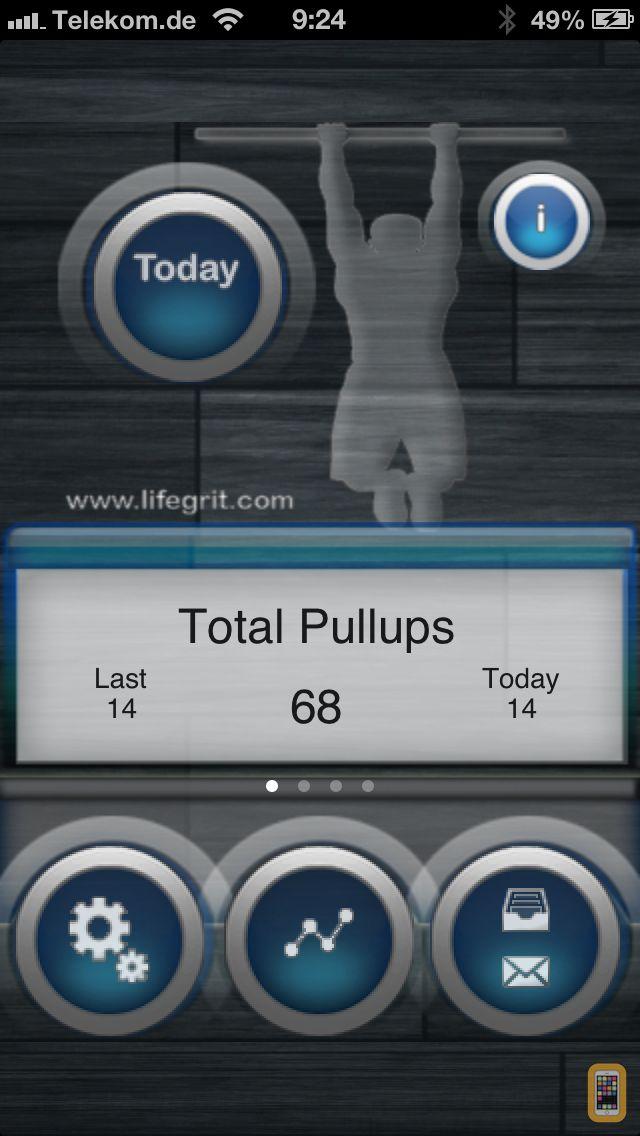 Screenshot - Pullups 20+ Lite