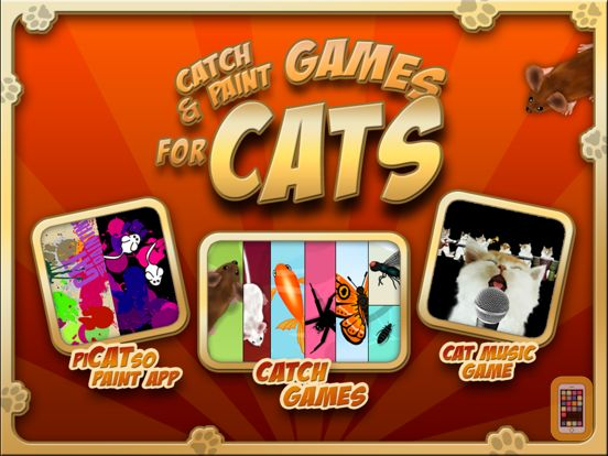 Screenshot - Catch and Paint Games for Cats