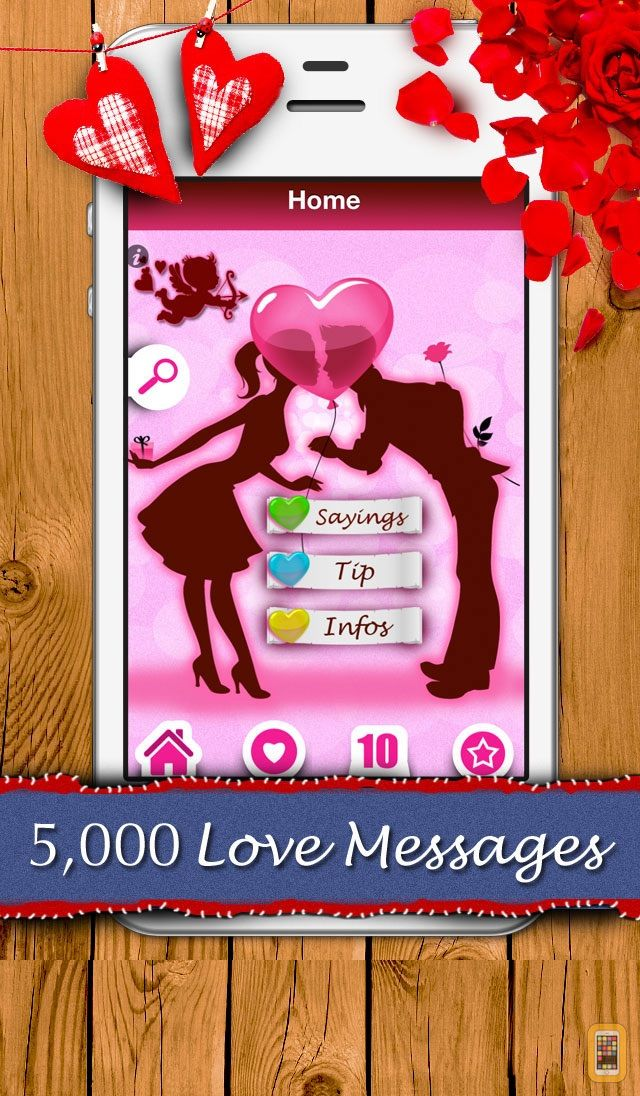 Screenshot - 5,000 Love Messages - Romantic ideas and words for your sweetheart