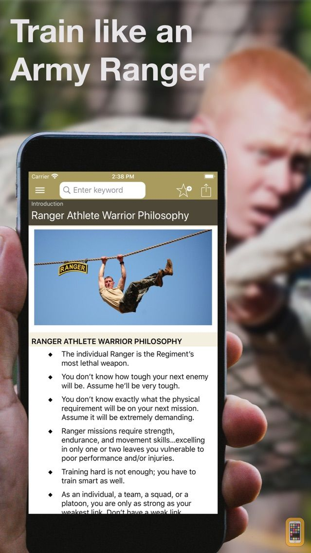 Screenshot - Army Ranger Fitness
