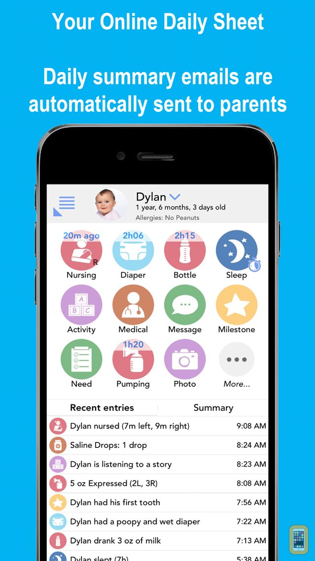 Screenshot - Daily Connect (Child Care)