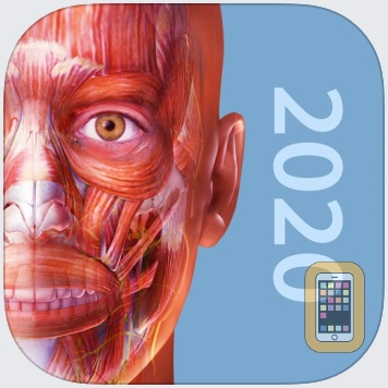 Muscle Premium - Human Anatomy, Kinesiology, Bones by Visible Body (Universal)