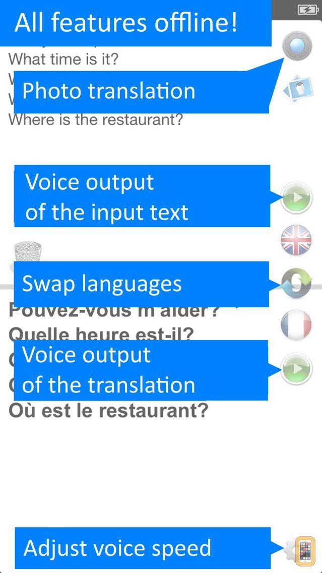 Screenshot - Translate Offline: French Pro
